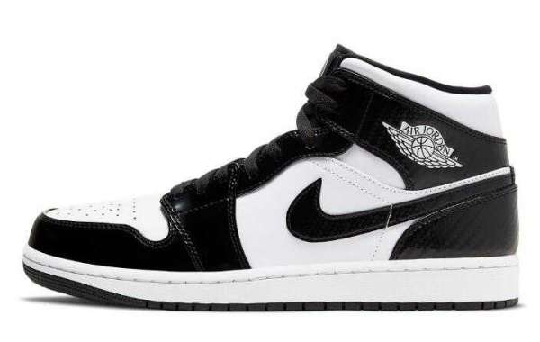 New Brand 2021 Air Jordan 1 Mid All-Star Black White Coming Soon